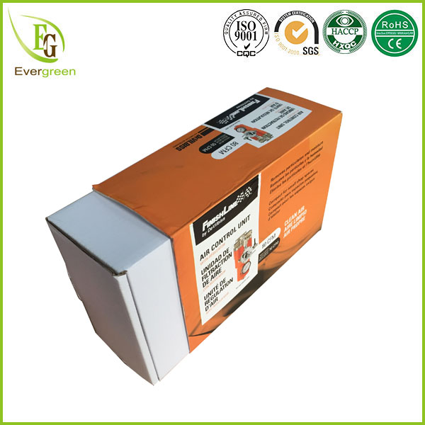 custom printed paper box sleeves packaging with inner box design for air control unit
