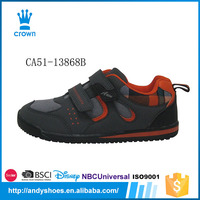 New fashion breathable buckle strap soft sole shoes casual sneakers