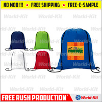 Hottest Waterproof Non-woven Drawstring Bag Travel Wash Pouch Shoe Clothes Storage Bag