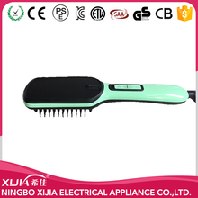higt top electric hair straightener comb brush hair iron straightener