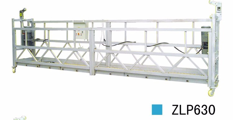 ZLP630 Steel Suspended Platform Used for Building Maintenance