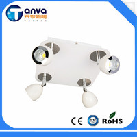 4 wires 5w 7w 12w 15w 20w 25w LED Track light for clothing shop store