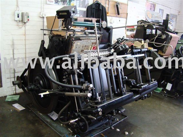 Hiedelberg Giant Platen with foiling attachment (A3)