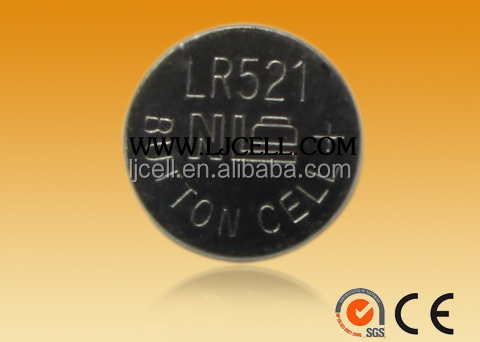 1.5v LR521 battery , LR521 button battery , dressing case battery LR521