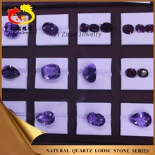 Factory direct sell amatista multiple shape diamond cut natural amatista crystal