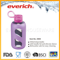 recycling small square food grade eco friendly plastic bottles water bottle