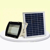 Solar Flood Security Garden Light with PIR Motion Sensor 10w outdoor lamps