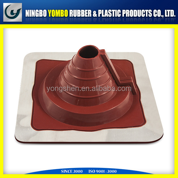 EPDM or Silicone RETROFIT rubber roof flashings for chimney or pipe