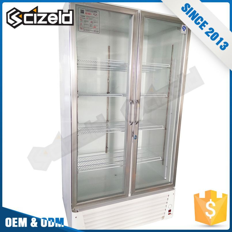 Top Products Food And Beverage Cool Glass Cabinets Display Showcase