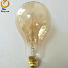 Home decorative A90 incandescent carbon filament lamp 220V 30Watt