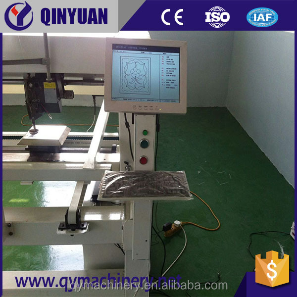 Qinyuan QY-2 computerized single needle sewing quilting machinery from China