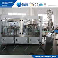 The Advanced New CGF18-18-6 Mineral Water Plant Machinery Cost to Khazakstan