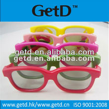2d to 3d converter circular polarized 3d glasses for professional cinema system