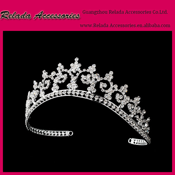 Factory Wholesale Bridal wedding flower hair headpieces tiaras making bridal hair accessories headband for wedding girls