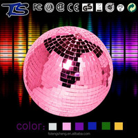 No MOQ party decorations colorful decorative clear glass balls with foam core