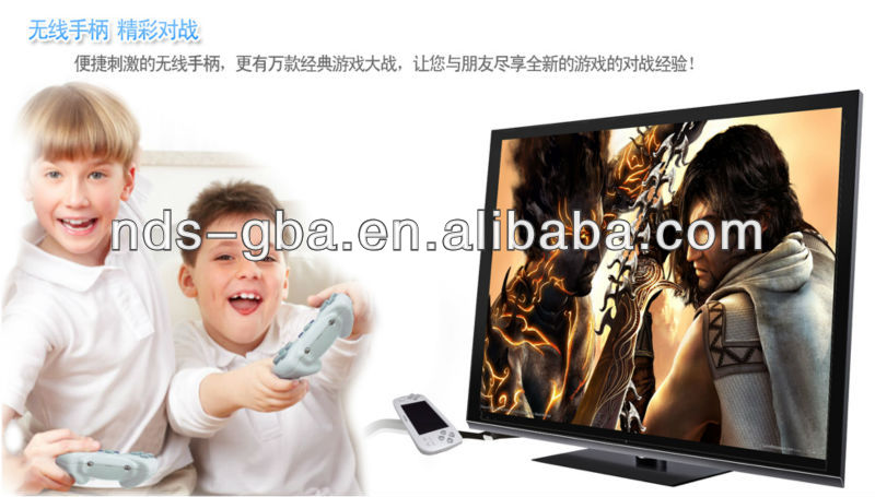Super 4.3 inch high TFT screen Good multimedia tv game player/ game console