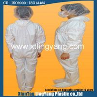 Working White Protective Garment
