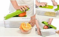 High Discount 12 Pcs TV Vegetable Fruit Multi Peeler Cutter Chopper Slicer Kitchen Cooking Tools For Salad