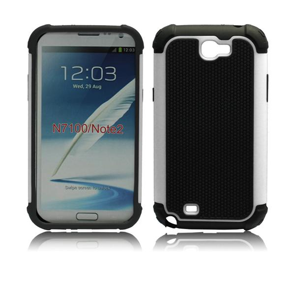 Hot Selling 2014 New Designer Cheap Hybrid Protective Hard tpu case cover for samsung galaxy note 2 n7100