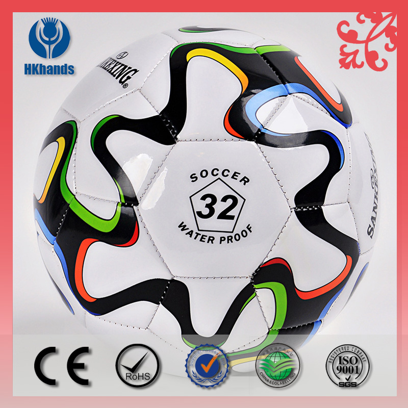 Factory wholesale Machine stitched superior TPU soccer ball sizes 5 Instock