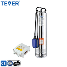 Chinese factory direct sale high lift 5 inch stainless steel submersible pump price with floating switch