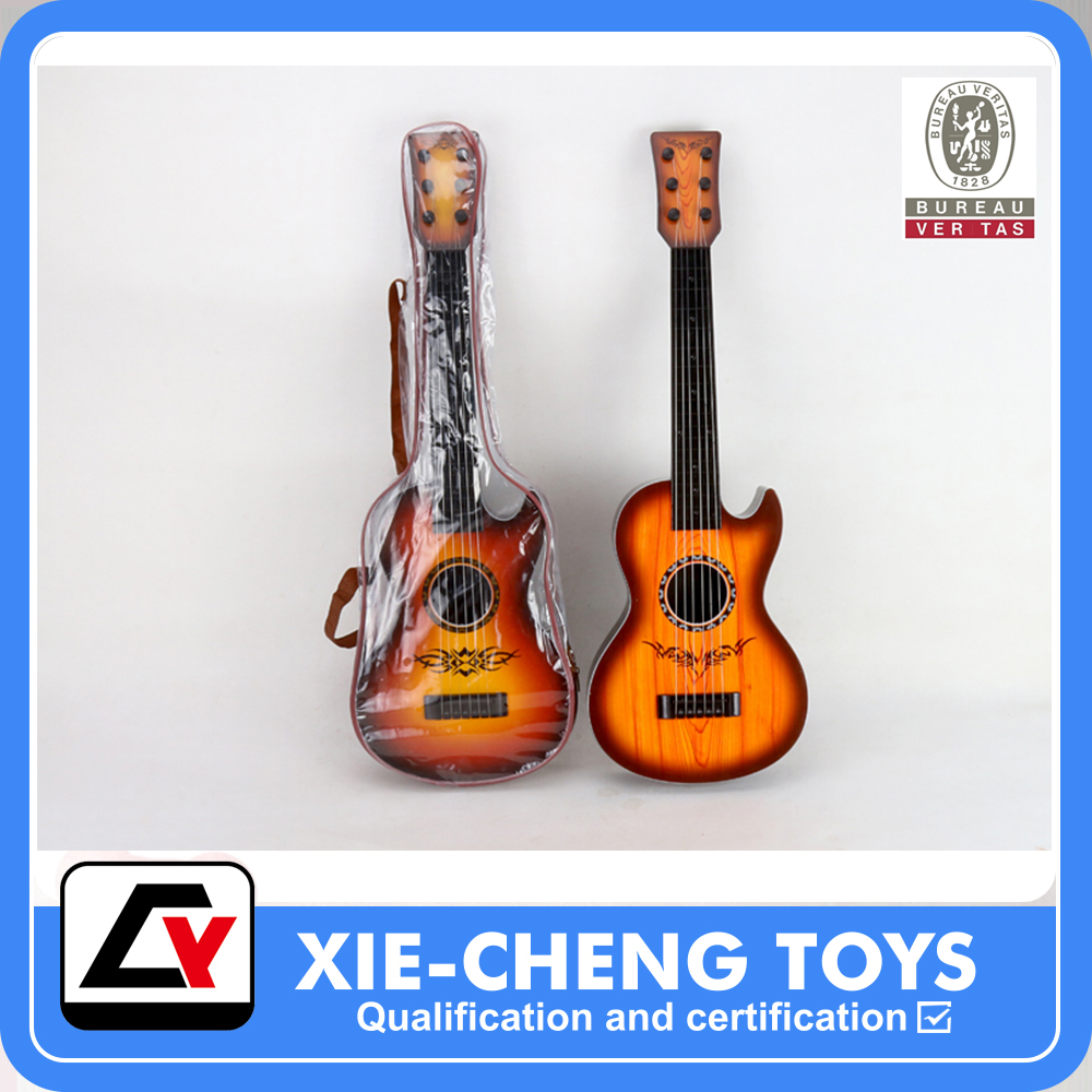 Wood grain Ukulele Plastic musical instrument guitar educational toy for kids