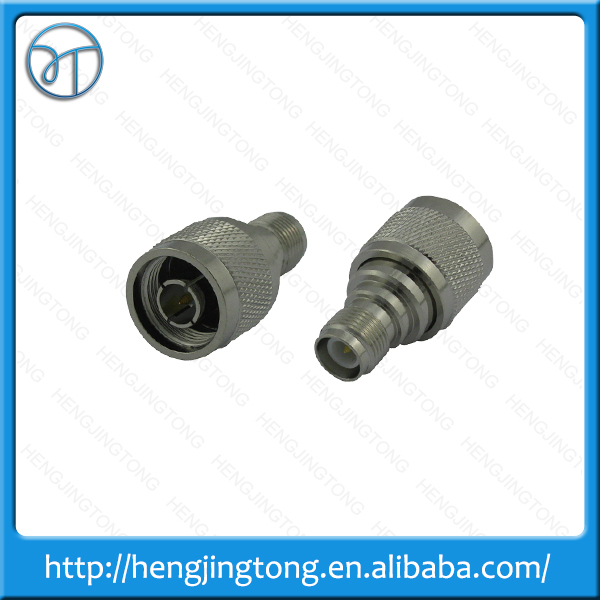 Newest RF coaxial coax adapter N male to RP-TNC female