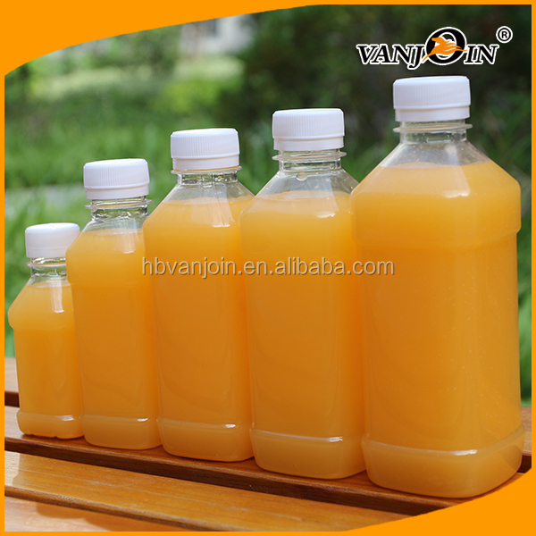 300ml Beverage Plastic Bottles Plastic Juice Milk Bottle