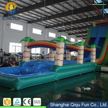 Inflatable water slip new slide fun for water park