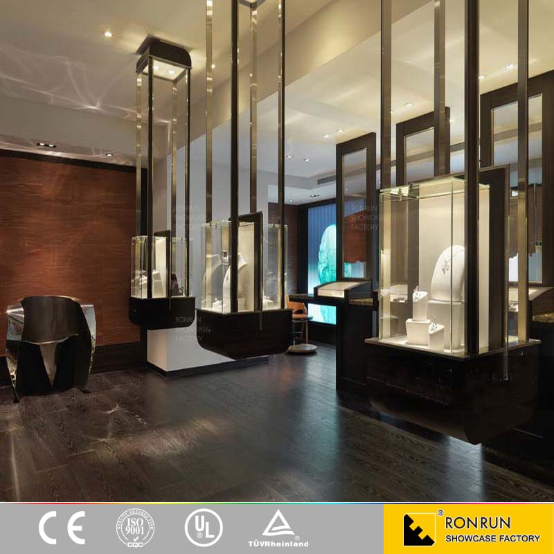 Jewellery Showroom Display Counter Interior Design Ideas Shop
