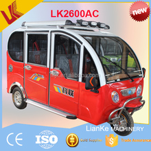 2017 cheapest adult 3 three wheel electric tricycle passenger seat/electric tricycle rickshaw/solar panel passenger