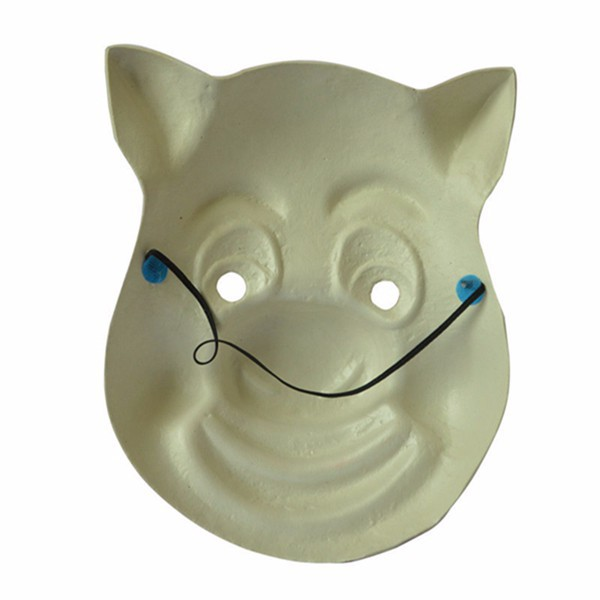 RJ-062 Yiwu Caddy funny nature rubber latex full head mask halloween pig mask for adult
