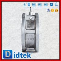 Didtek Trade Assurance CF8M Tilting Disc Wafer Check Valve