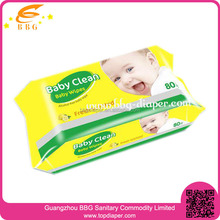 Wholesale private label baby products non alcohol wet wipes