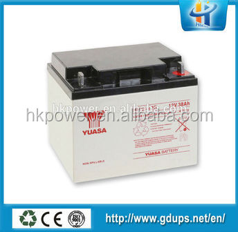12v 38ah high voltage battery manufacturing company for Canton Fair