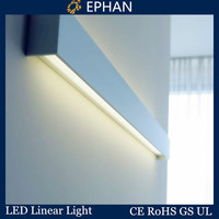 Ephan led aluminum profile underground step light for rigid bar