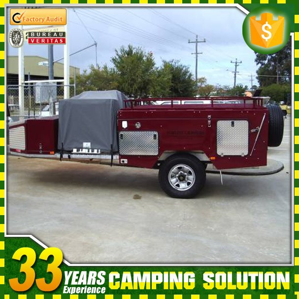 Australian Standard Rear Folding Camper Tent Trailer Sales