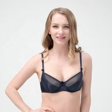 <strong>sexy</strong> fashion style half transparent design lace bra women <strong>underwear</strong>