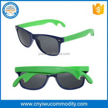 plastic bottle opener sunglasses with opener