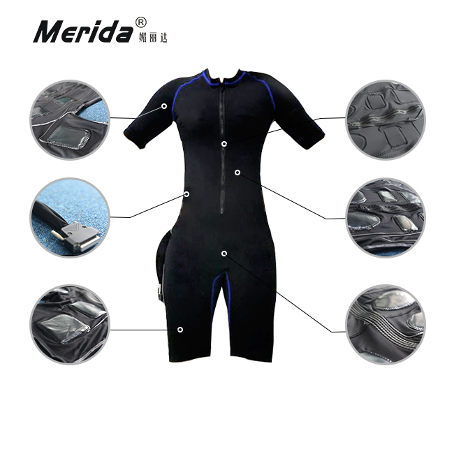 S Body EMS Training Suit / Electronic Muscle Stimulation / Home Fitness Machine
