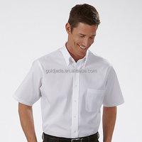Factory wholesale custom cotton office uniform formal shirts dress shirts for men