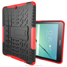 Light smart 2 in 1 anti-skid ballisitc tablet keyboard case for Galaxy Tab S2 T810 9.7inch