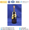 750ml Black vodka glass bottle