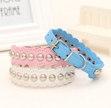 promotional pet products wholesale and retail fashion dog collars with diamond