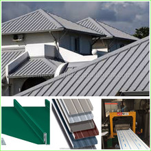 diy standing seam metal roof used for Supermarket