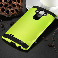 2016 Hot Selling Brushed PC TPU Back Cover For LG G4 G3 Armor Case