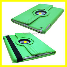 360 RotatingWake/Sleep lichi pattern PU Leather Case Skin Cover for Apple Ipad Air 5 5th Gen
