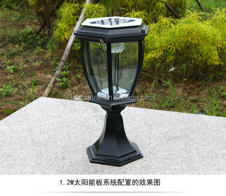 Clairage pour porte pilier ext rieur solaire lumi re for Eclairage exterieur lanterne