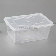 Cheap eco-friend plastic food containers with lids