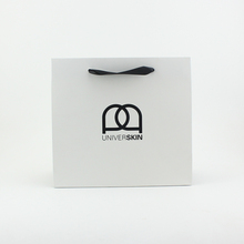 BSCI, FSC Customized coloring printing luxury shopping coated paper bags with logo